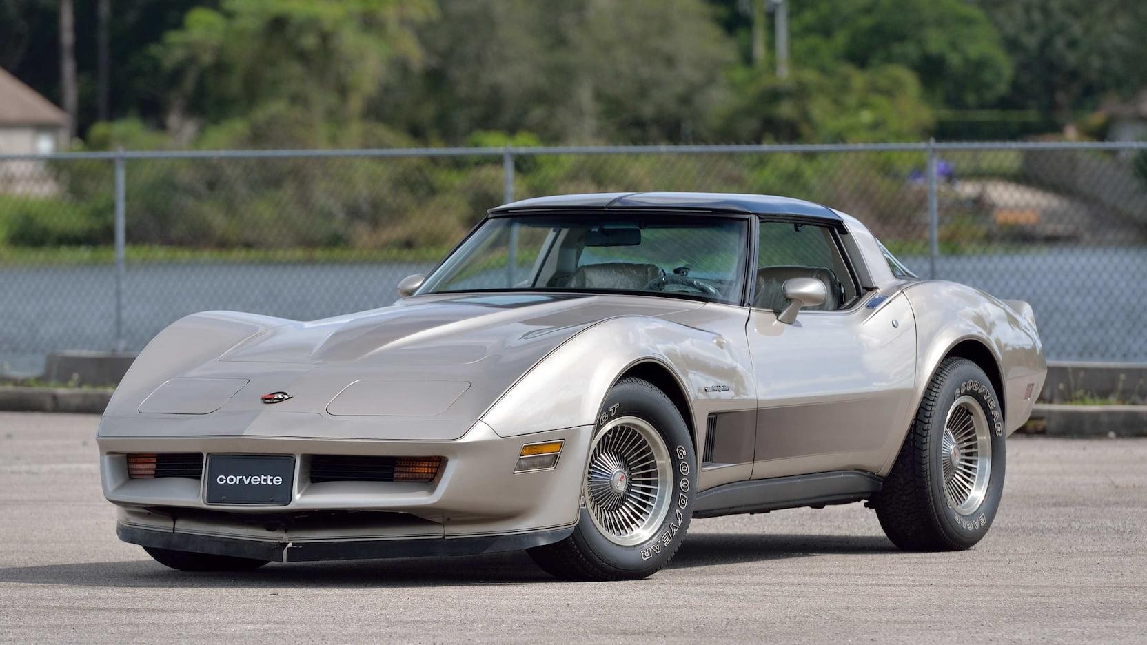 1982 Corvette Collectors Edition Front Three-Quarter