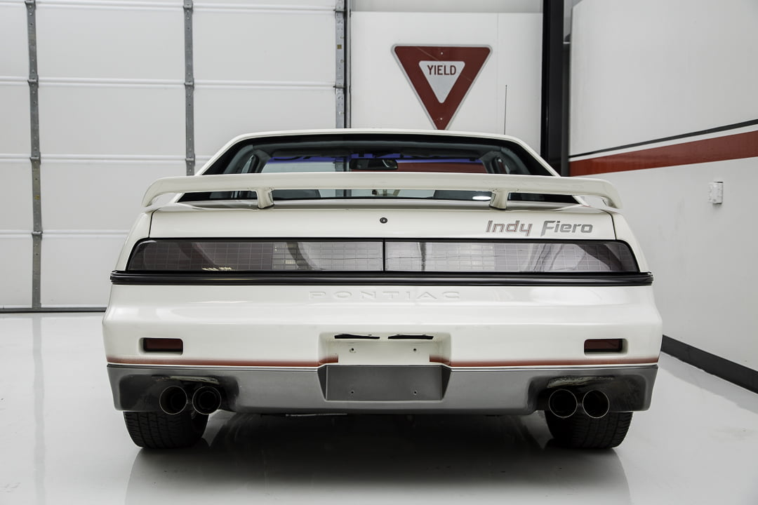 1984 Pontiac Fiero Indy Pace Car Rear