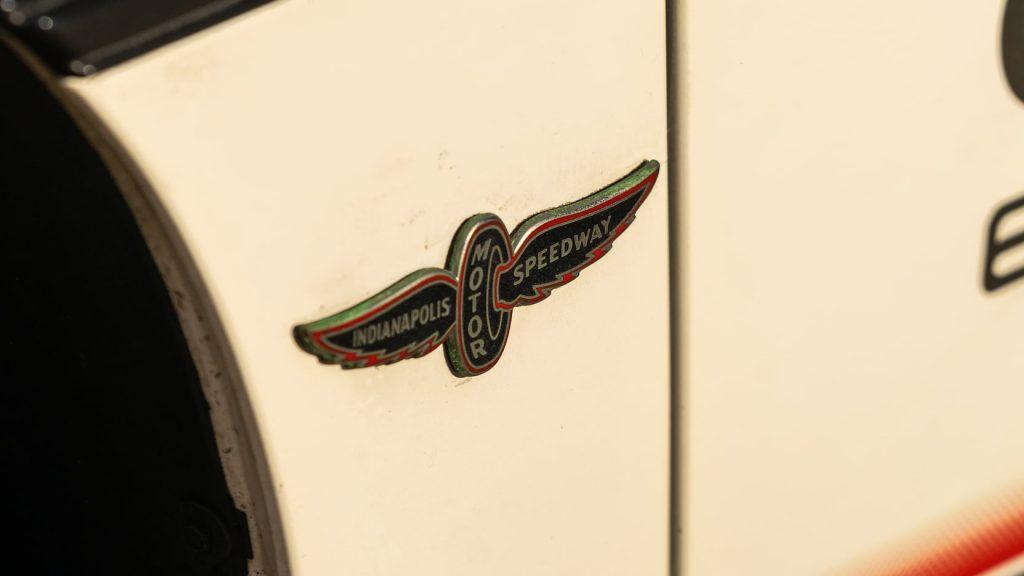 1984 Pontiac Fiero Indy Pace Car Motor Speedway Badge
