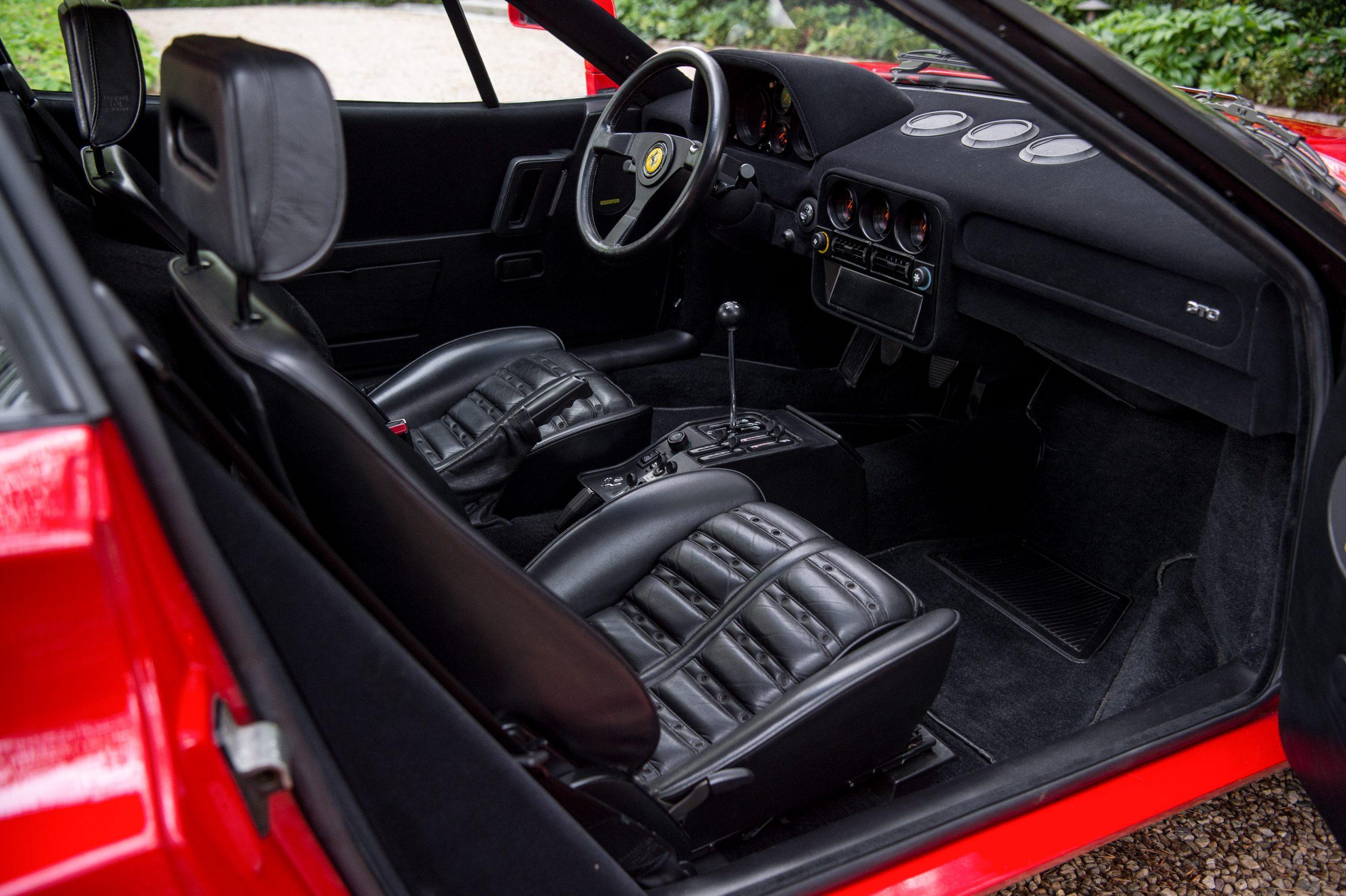 1985 Ferrari 288 GTO Interior