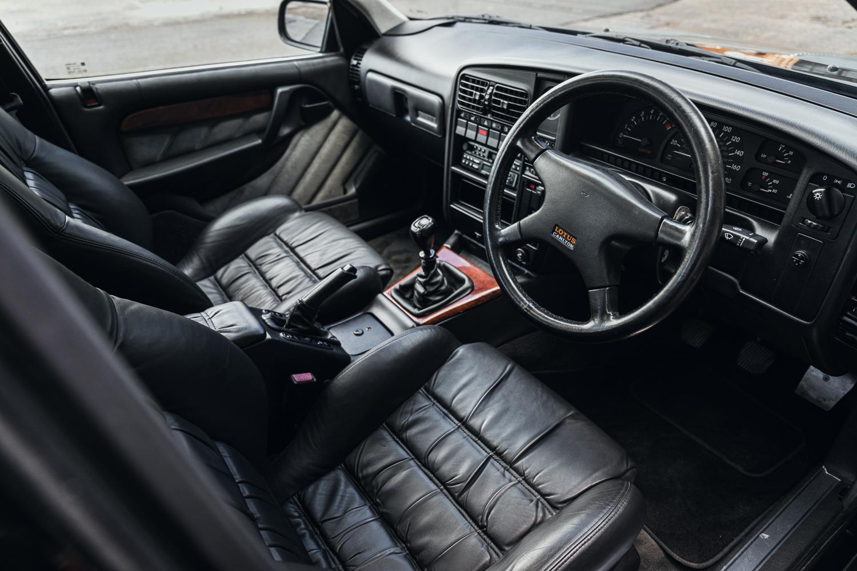 1992 Vauxhall Lotus Carlton Interior Front Three-Quarter