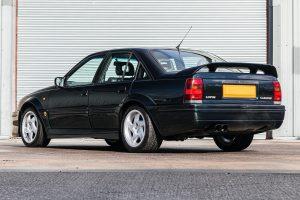 1992 Vauxhall Lotus Carlton Rear Three-Quarter