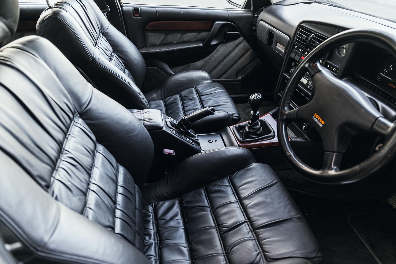 1992 Vauxhall Lotus Carlton Interior Front