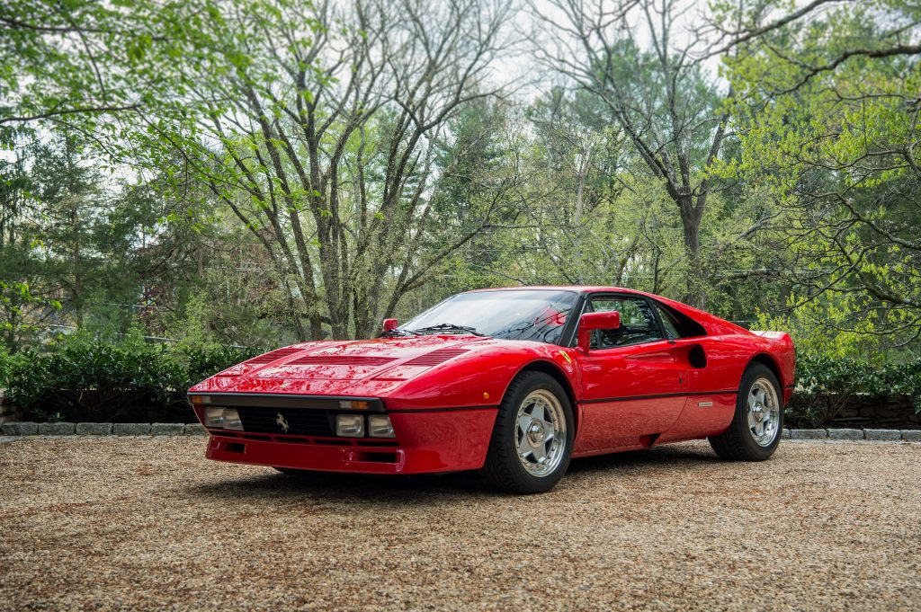 1985 Ferrari 288 GTO Front Three-Quarter