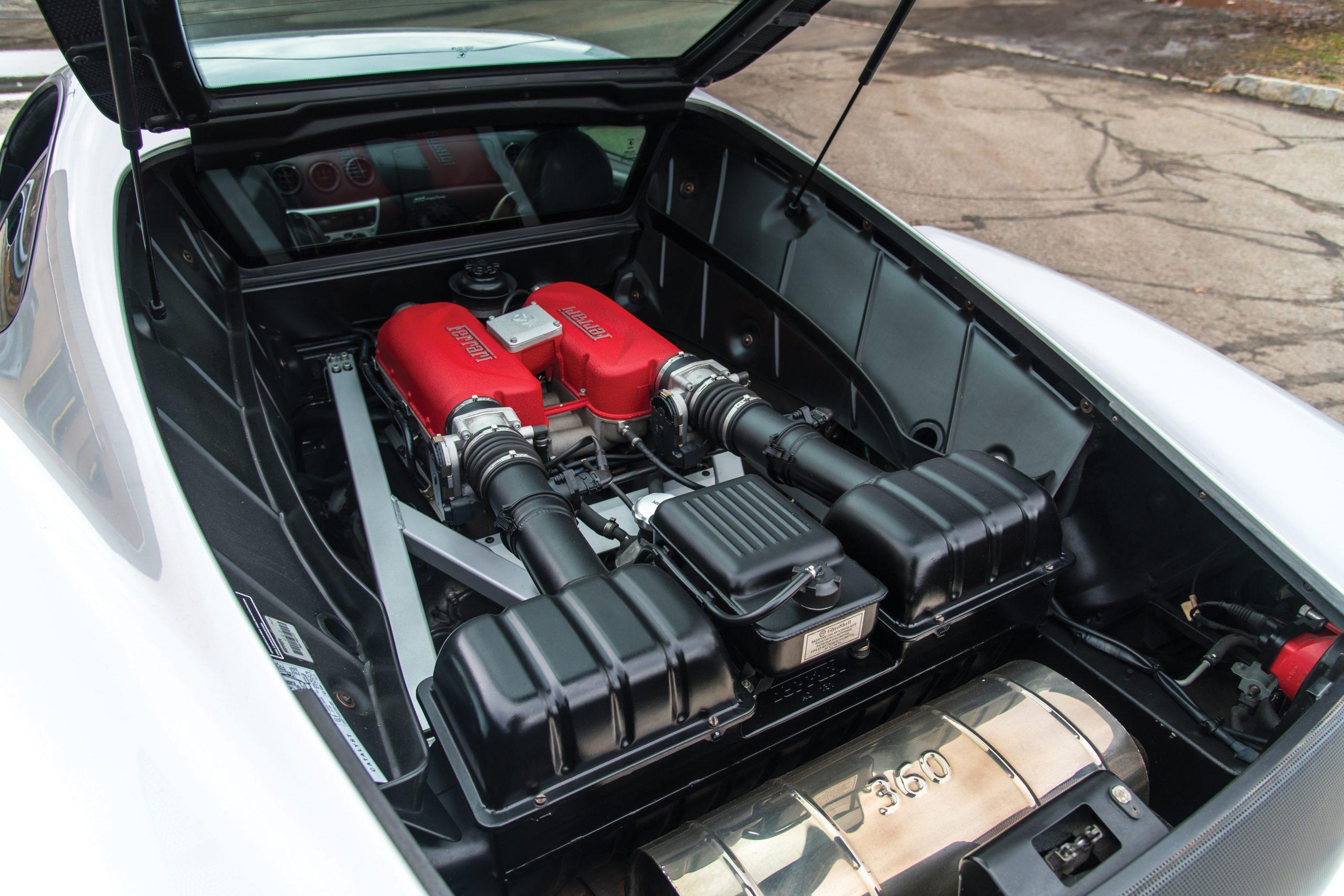 2000 Ferrari 360 Modena engine
