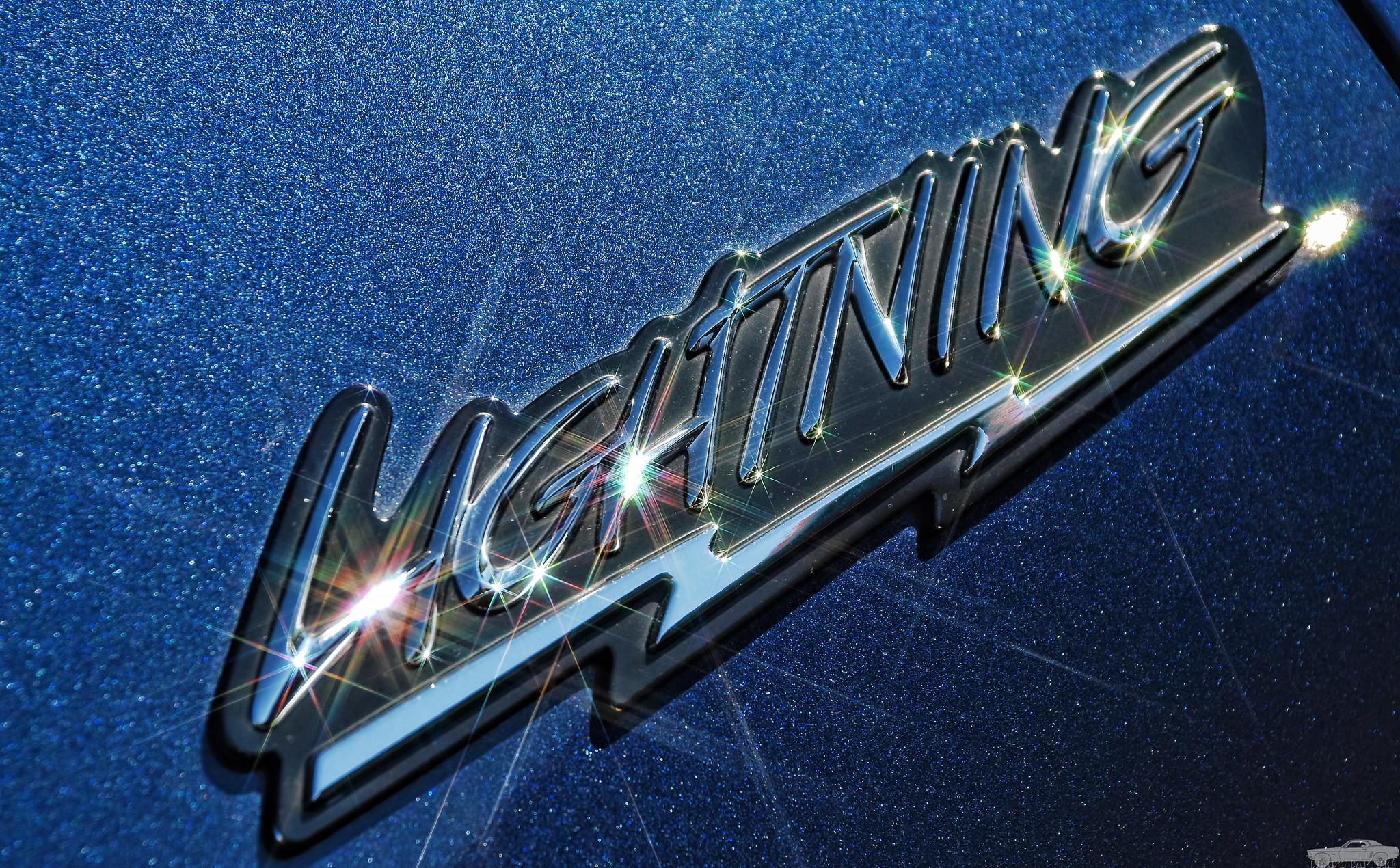 2002 Ford SVT Lightning Badge