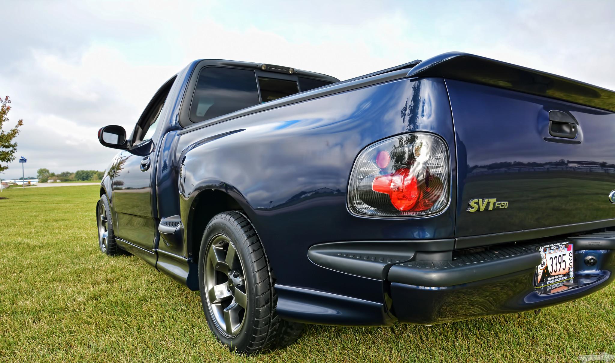 2002 Ford SVT Lightning Rear Three-Quarter