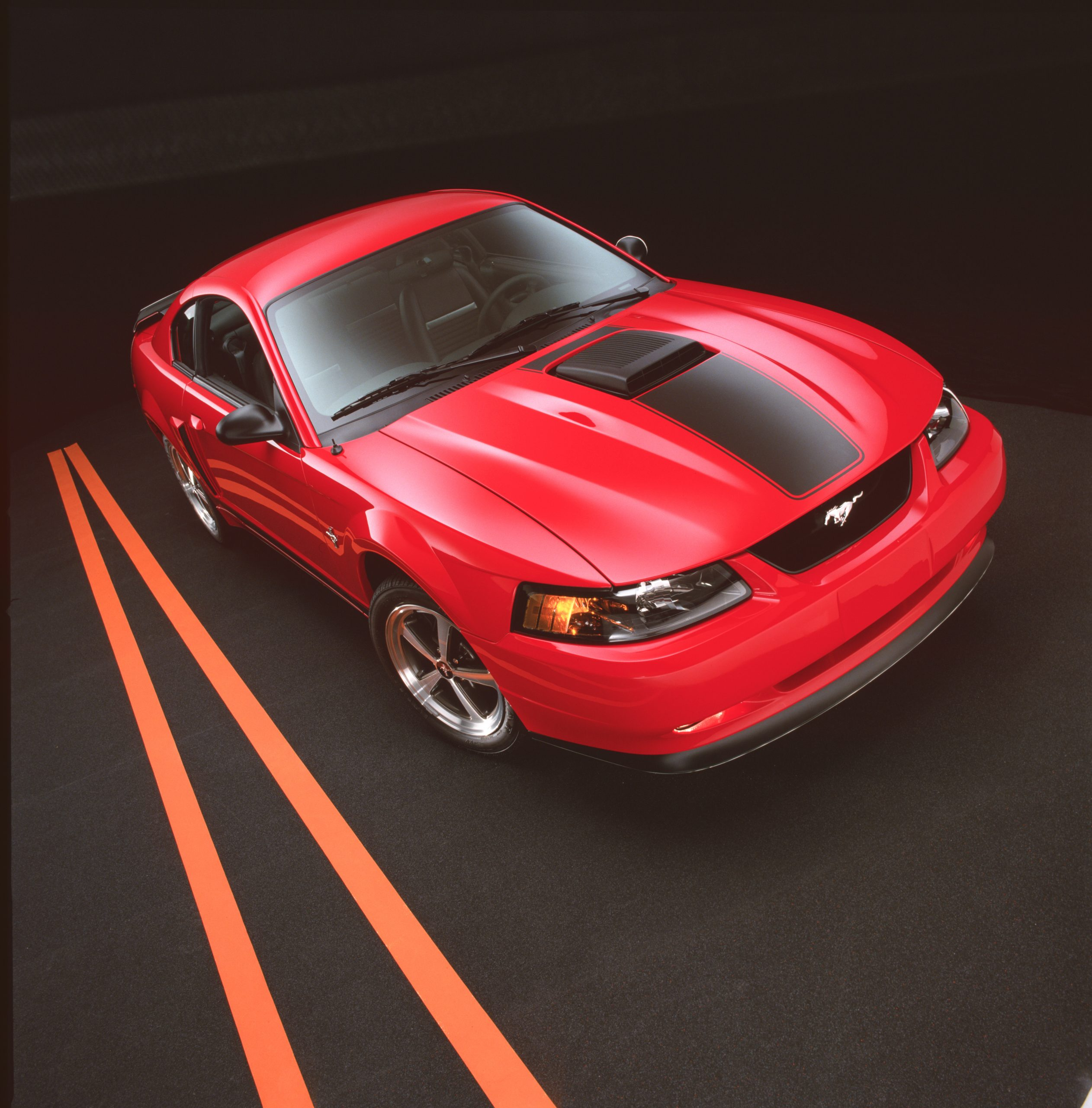 2003 Ford Mustang Mach 1 Coupe Front Three-Quarter