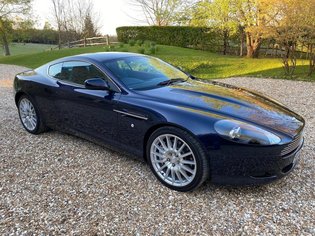 2005 Aston Martin DB9 Front Three-Quarter