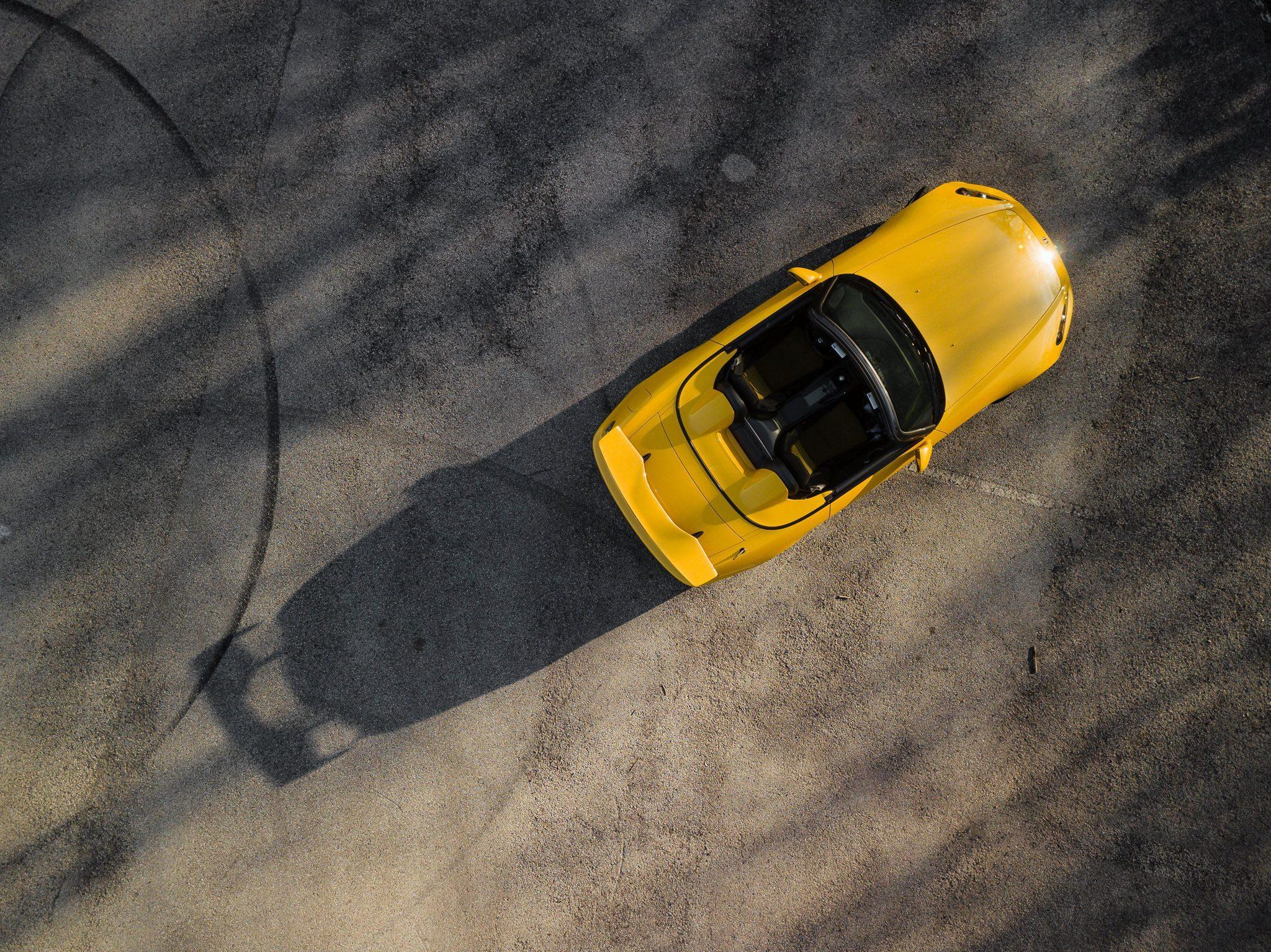 2008 Honda S2000 CR Overhead