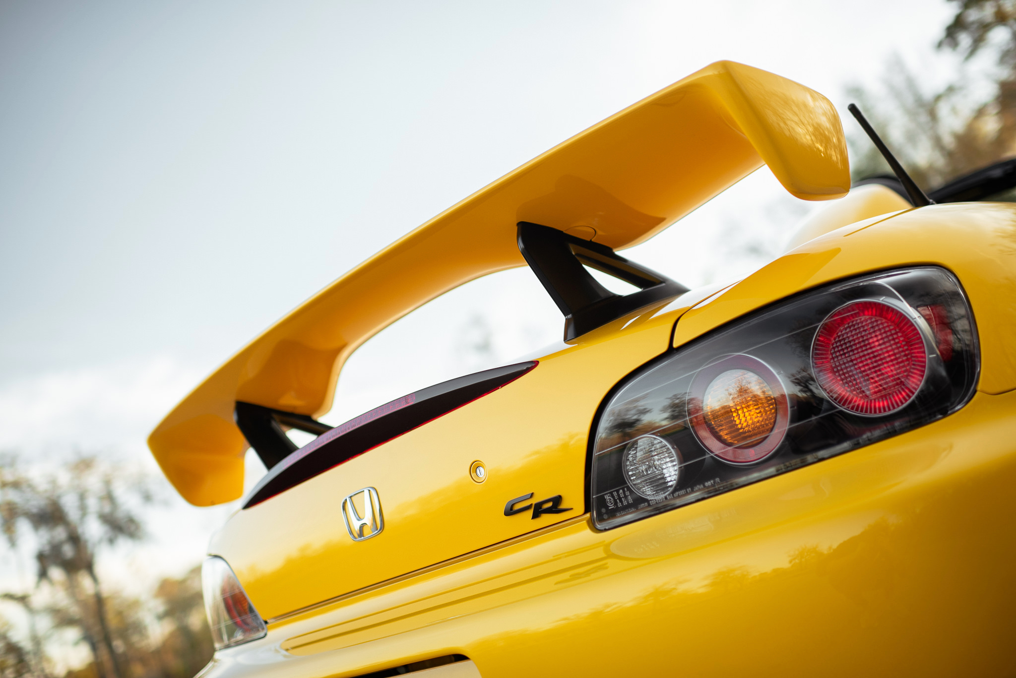 2008 Honda S2000 CR Wing