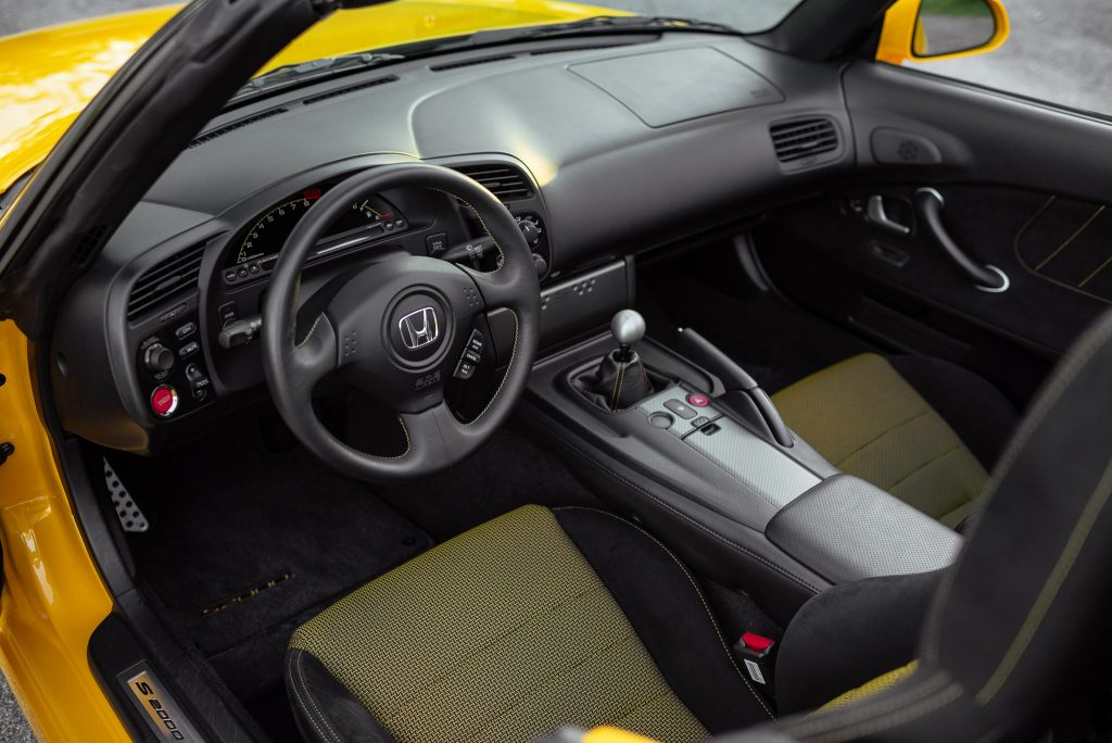 2008 Honda S2000 CR Interior Angle Dash