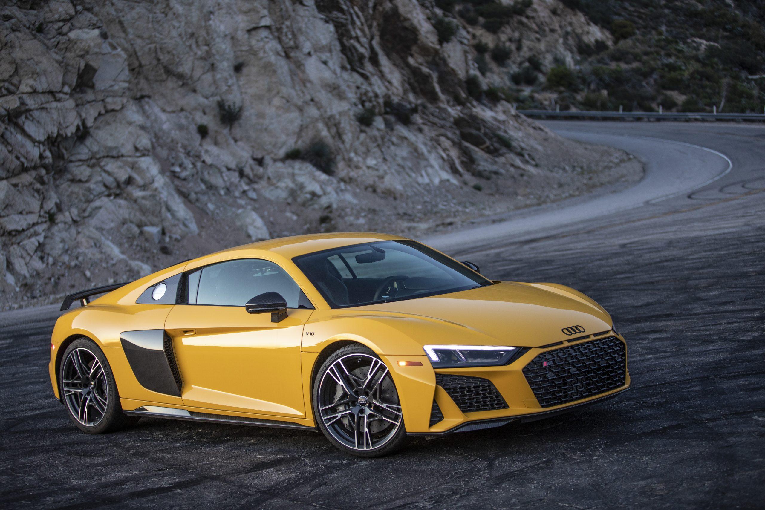2020 Audi R8 Angeles Crest Curve