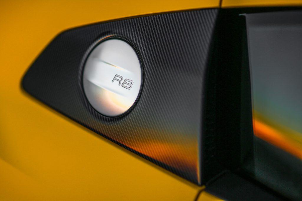 2020 Audi R8 Fuel Cap