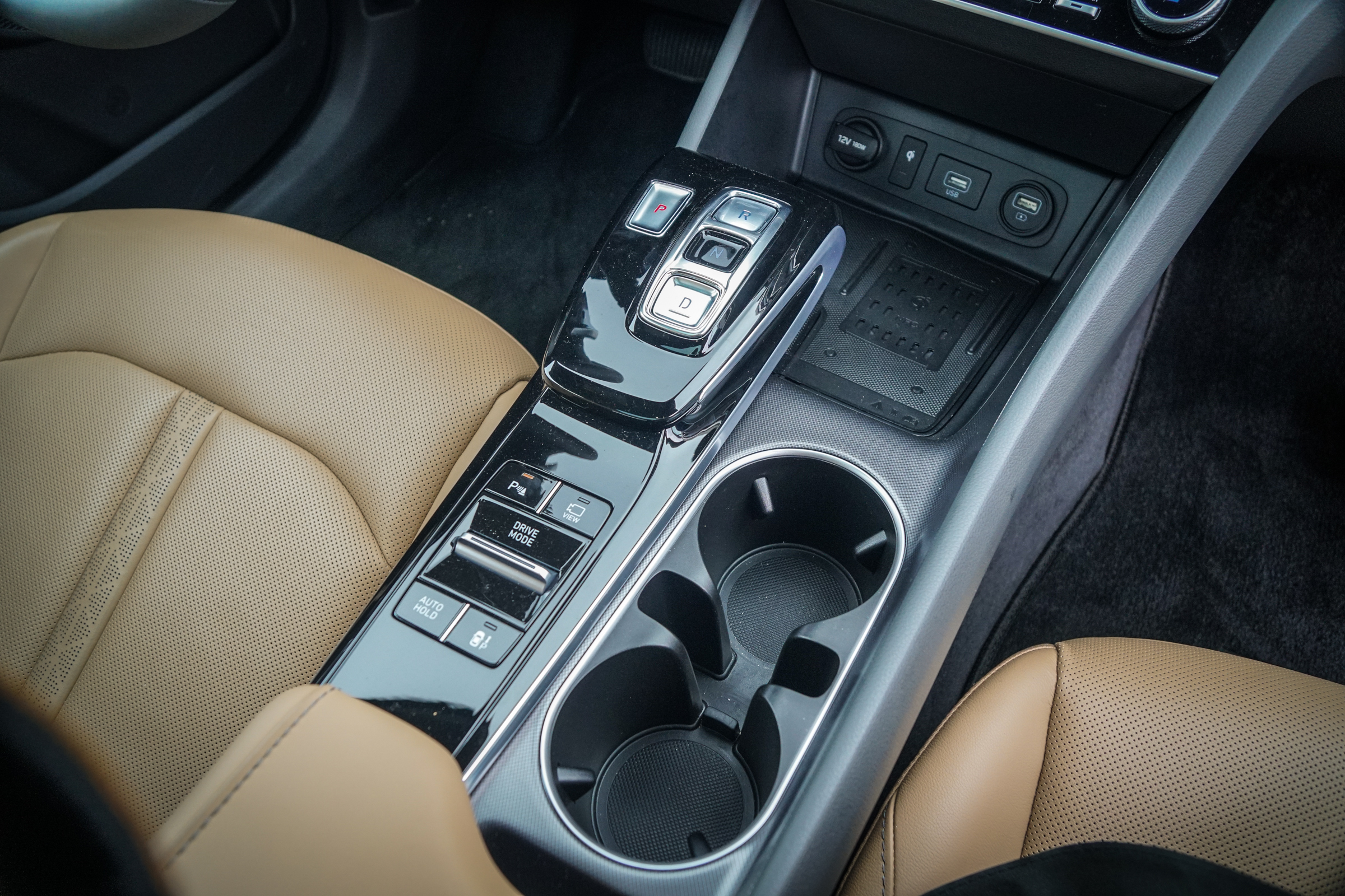 2020 Hyundai Sonata Limited center console