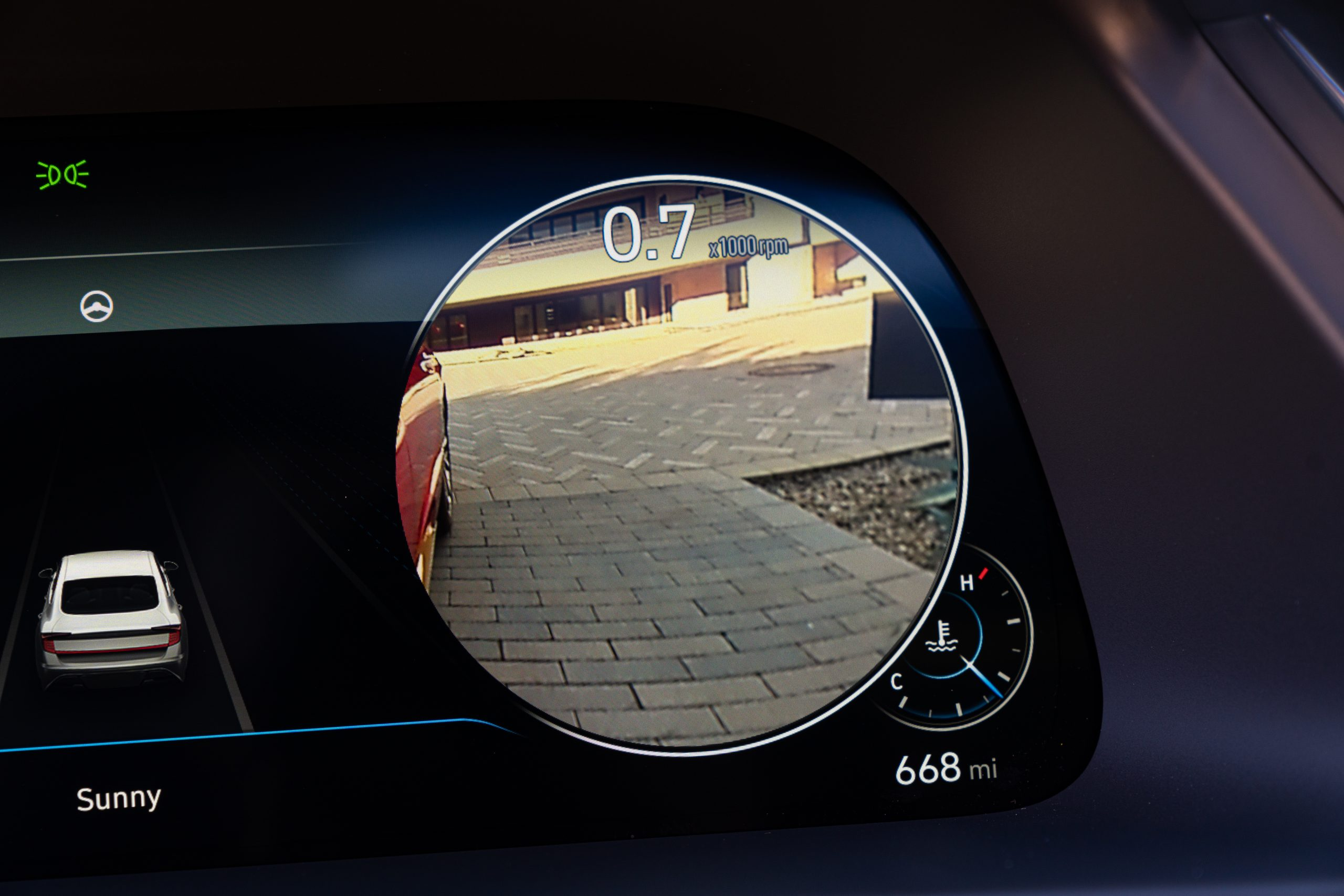 2020 Hyundai Sonata Limited Blind View Monitor