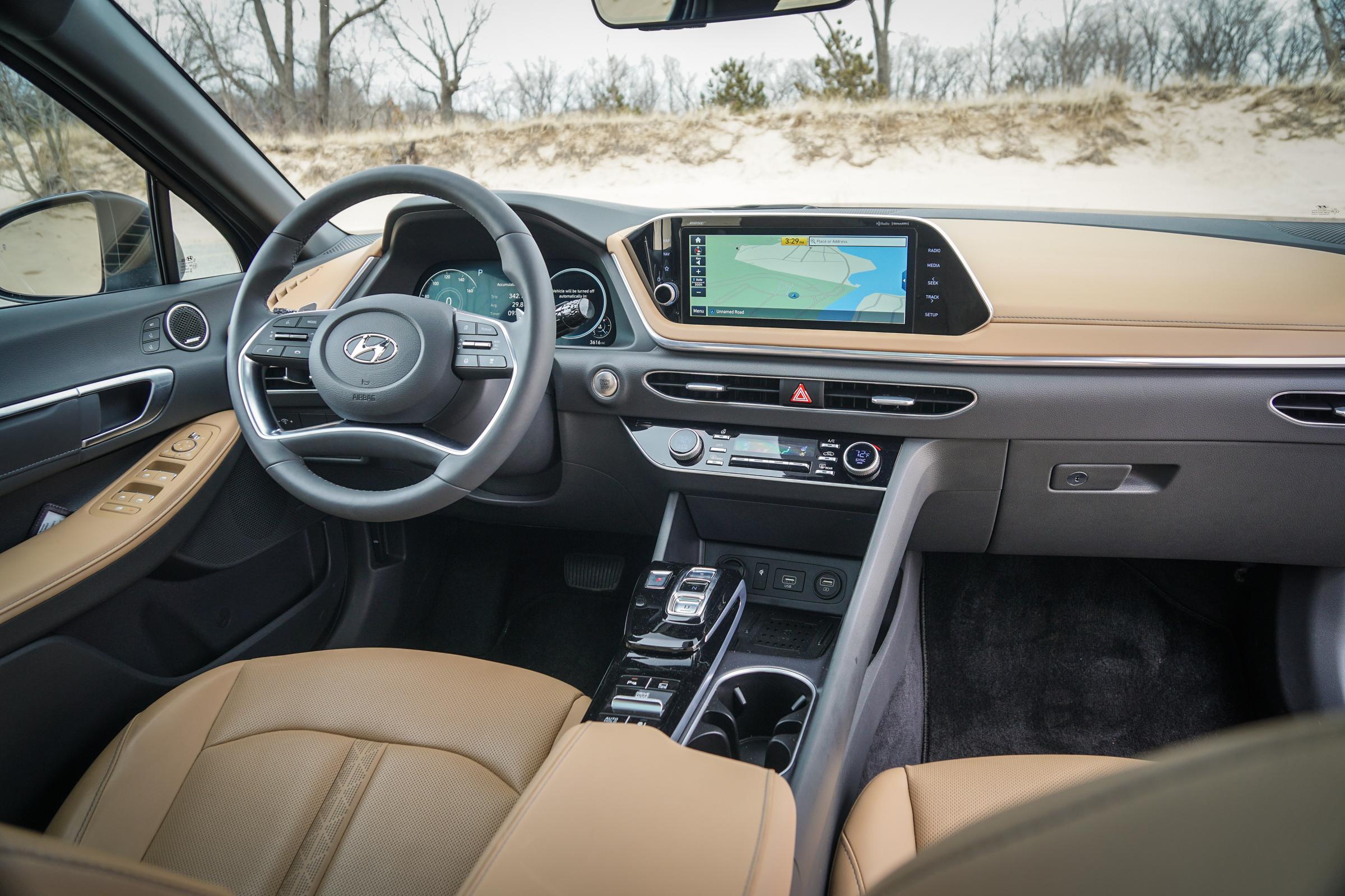 2020 Hyundai Sonata Limited Interior