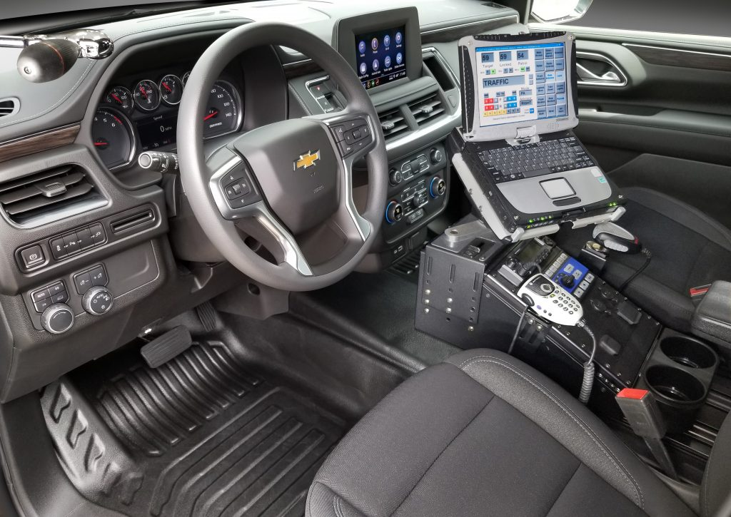 2021 Chevrolet Tahoe Police Pursuit Vehicle Interior