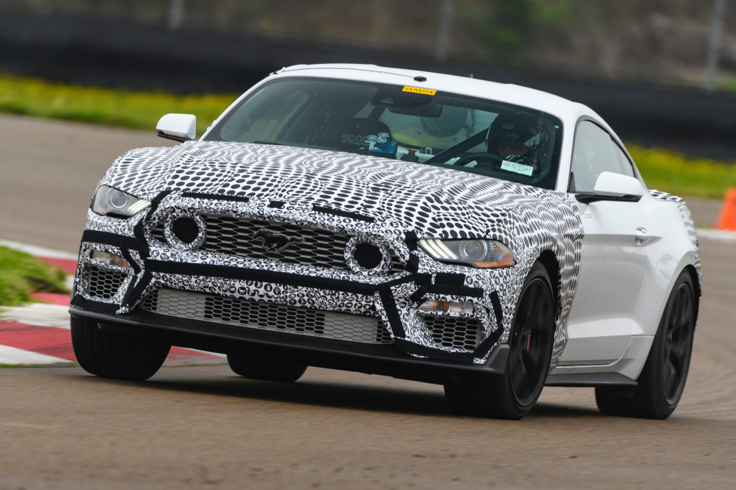 2021 Mustang Mach 1 Front Three-Quarter On Track