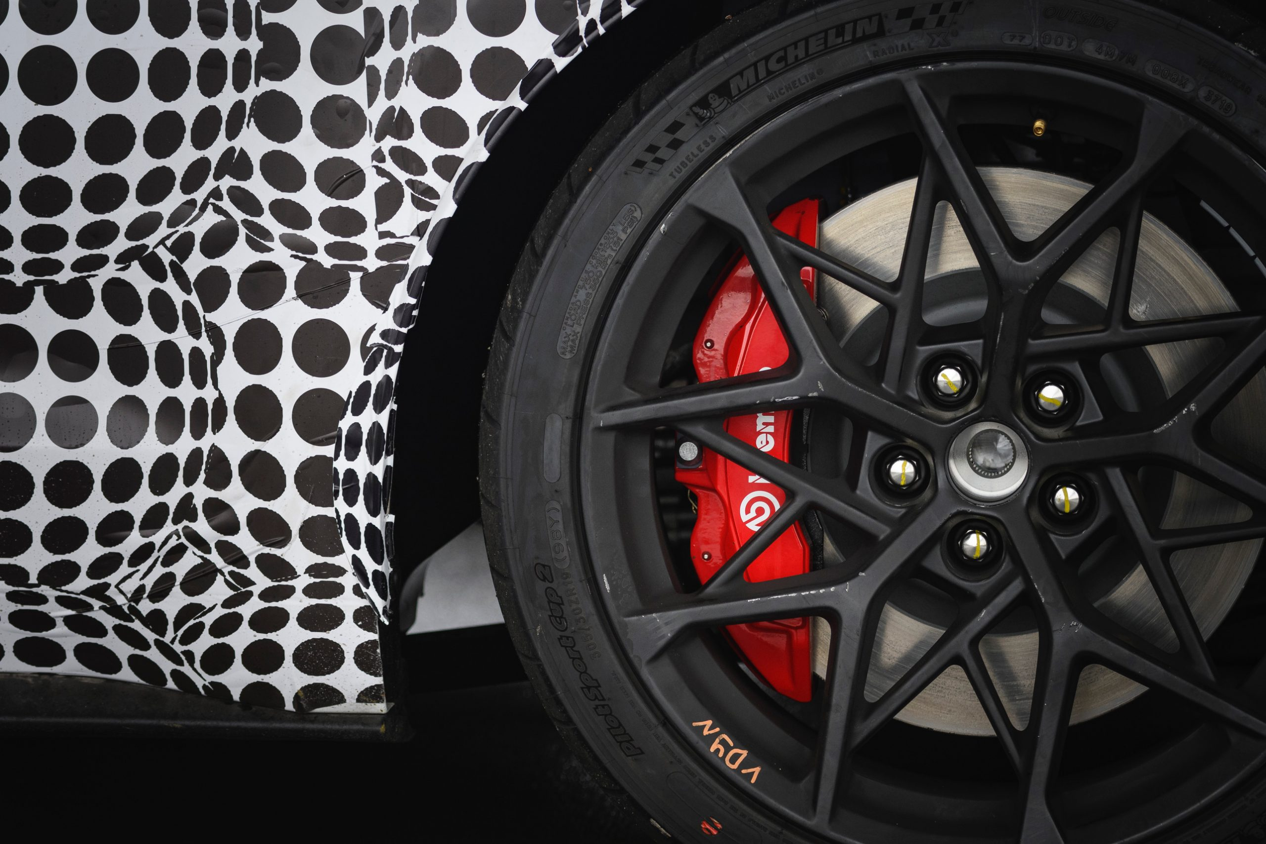 2021 Mustang Mach 1 Wheel And Caliper Close Up