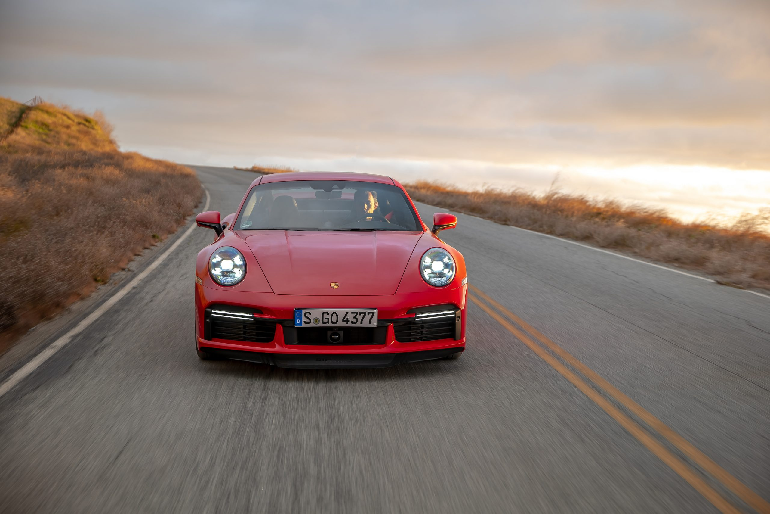 2021 Porsche 911 Turbo S Front