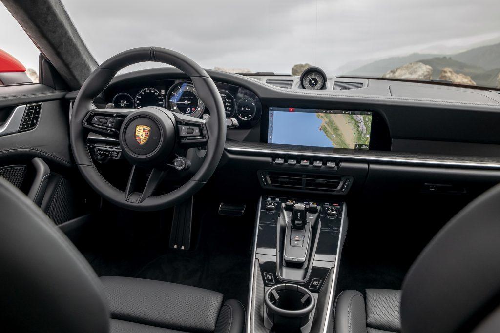 2021 Porsche 911 Turbo S Interior Front