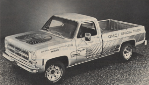 1976 GMC Indy 500 Pace Truck