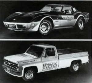 1978 Chevrolet Indy 500 Pace Truck