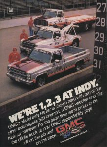 1982 GMC Indy Pace Truck