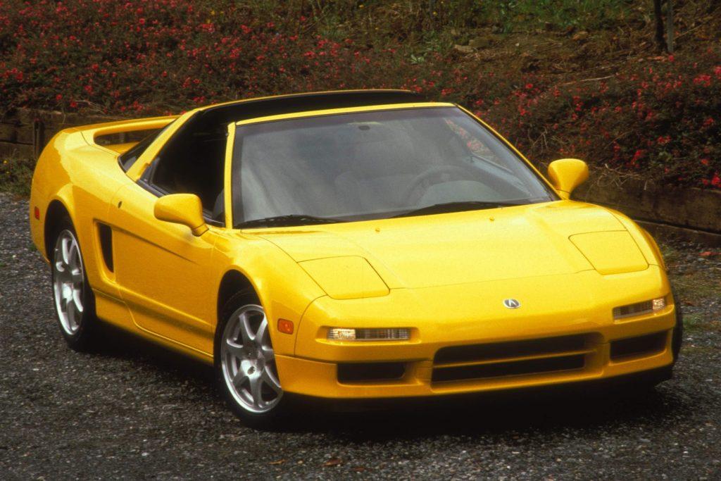 1997 Acura NSX Front Three-Quarter