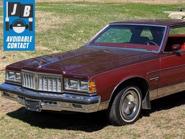 1978 Pontiac Bonneville Brougham Front Three-Quarter
