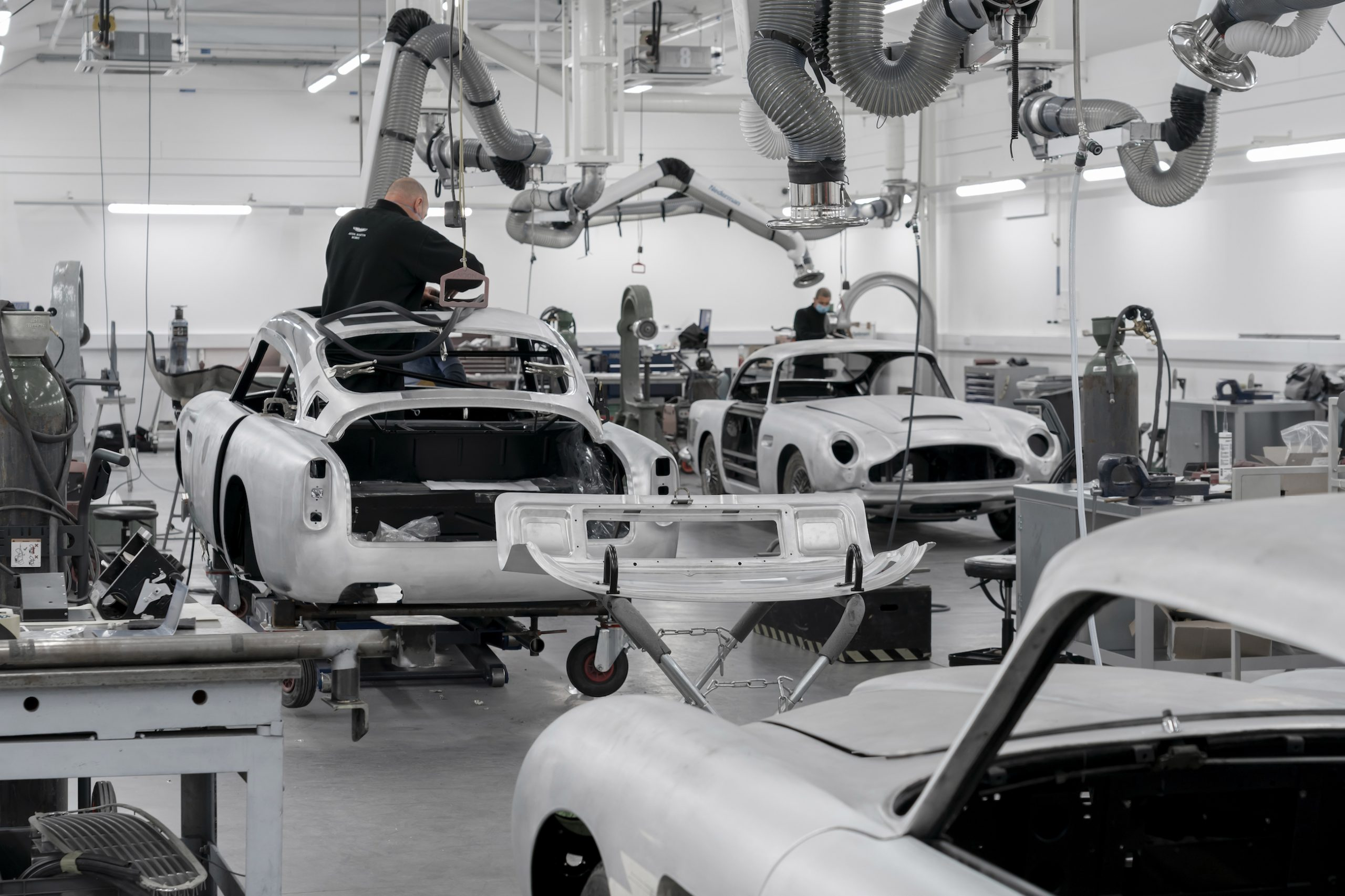 James Bond DB5 Goldfinger Factory Interior