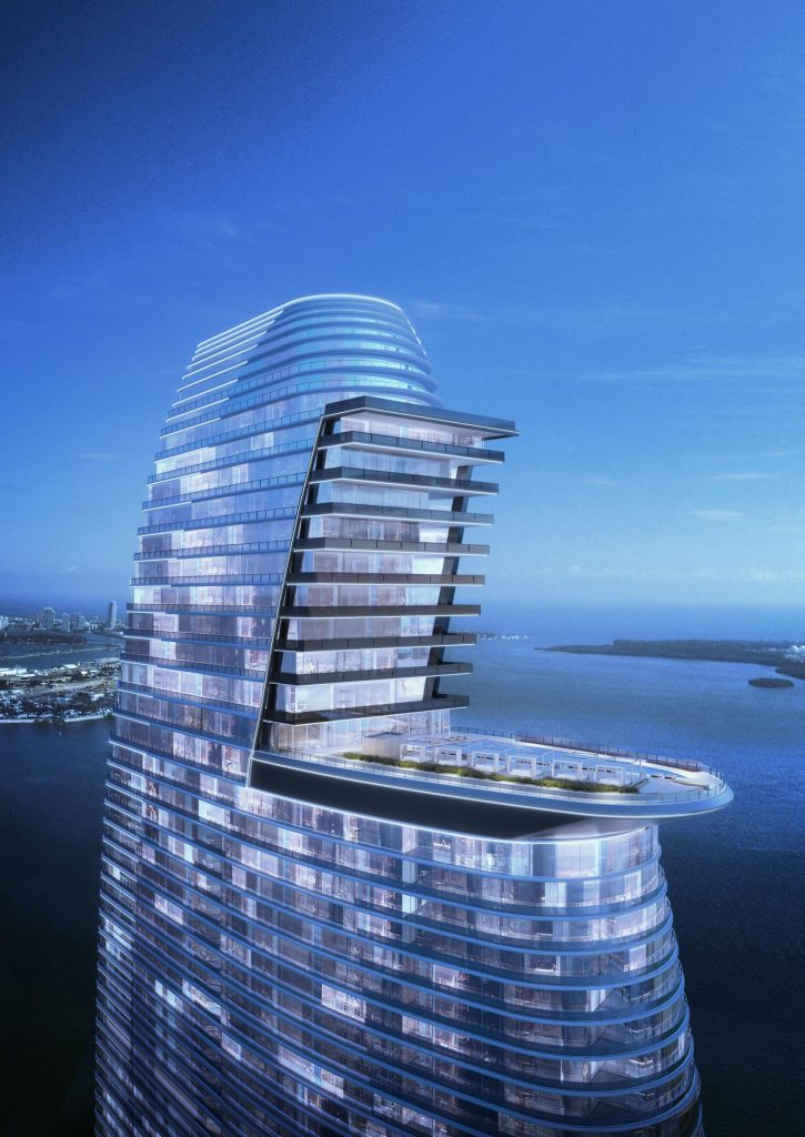 Aston Martin Futuristic High Rise Penthouse
