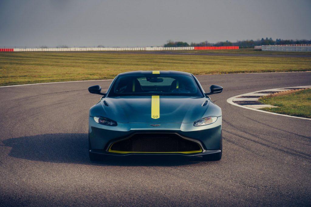 Aston Martin Car Front