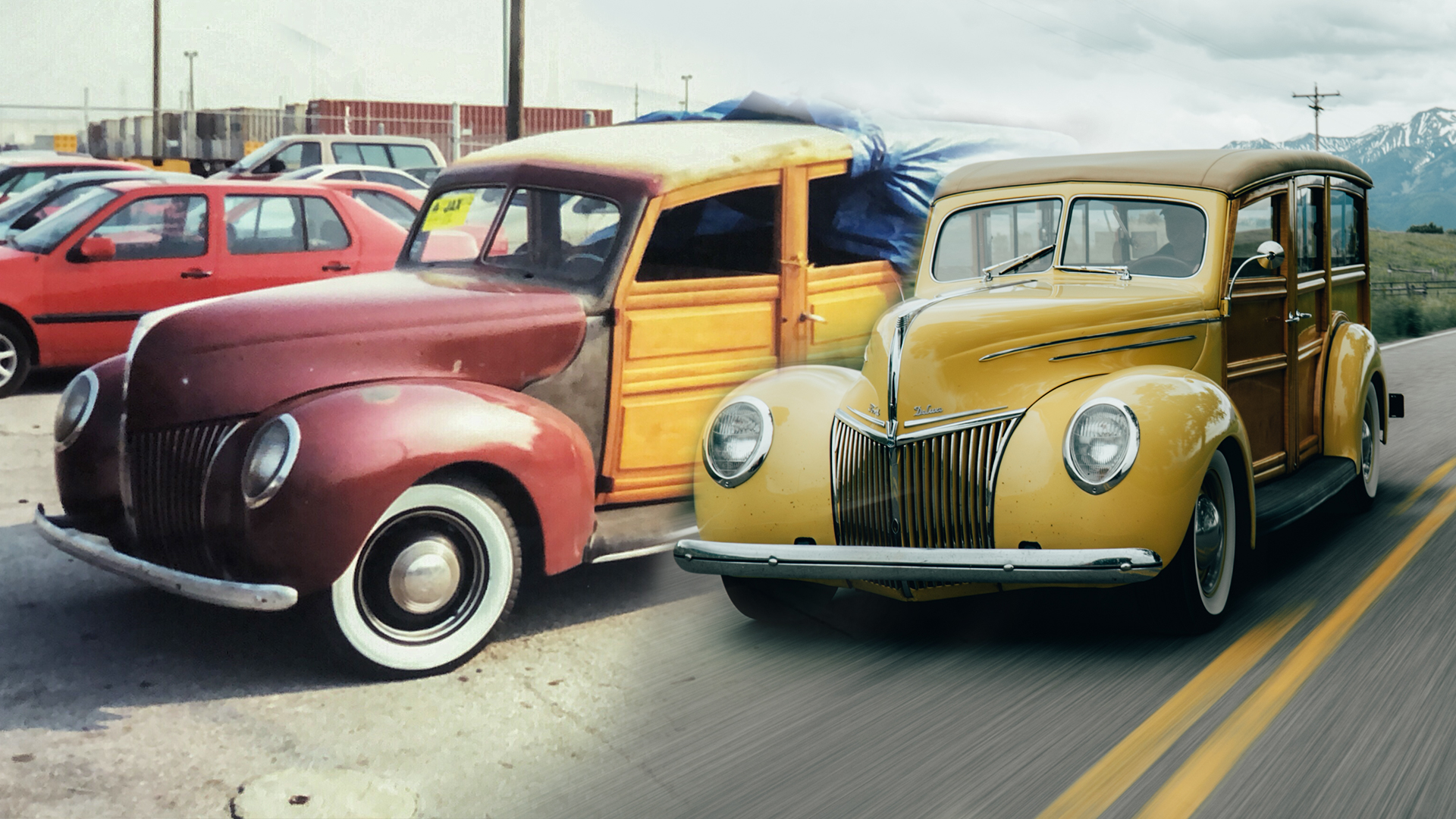 BFH Story of Tom's Ford Woodie Wagon