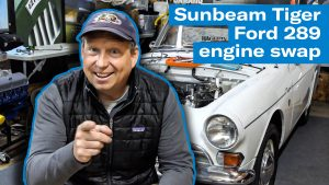 Top side teardown for Sunbeam Tiger engine swap project | Brad the Sunbeam Tiger King – Ep 2