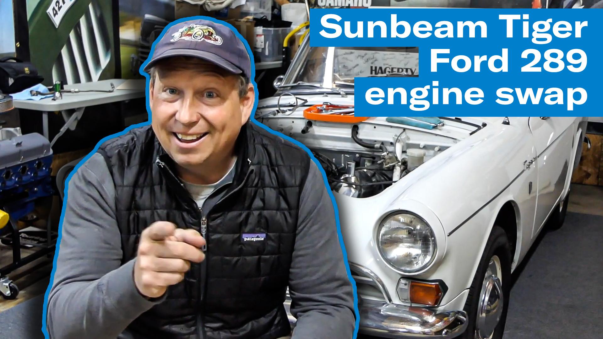 Sunbeam Tiger Ford 289 engine swap