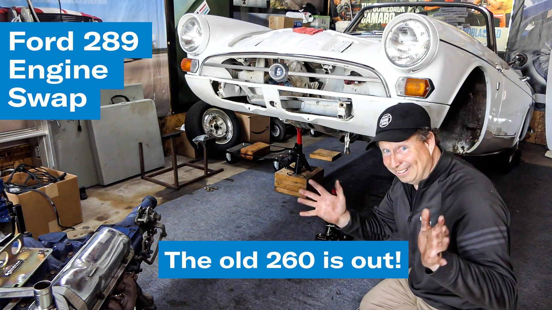 Out with the old Ford 260 | Sunbeam Tiger engine swap project