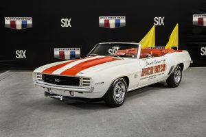 1969 Indy Pace Car Camaro Front Three-Quarter