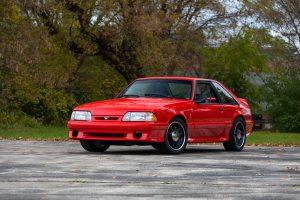 1993 Ford Mustang SVT Cobra R Front Three-Quarter