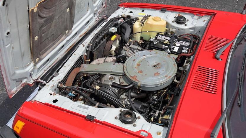 Dodge Colt Double Header engine