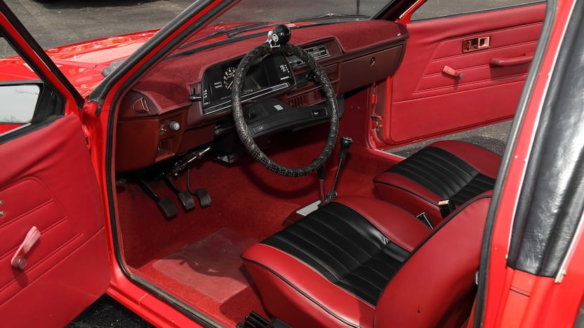 Dodge Colt Double Header interior