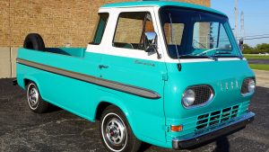 Ford Econoline pickup front three quarter