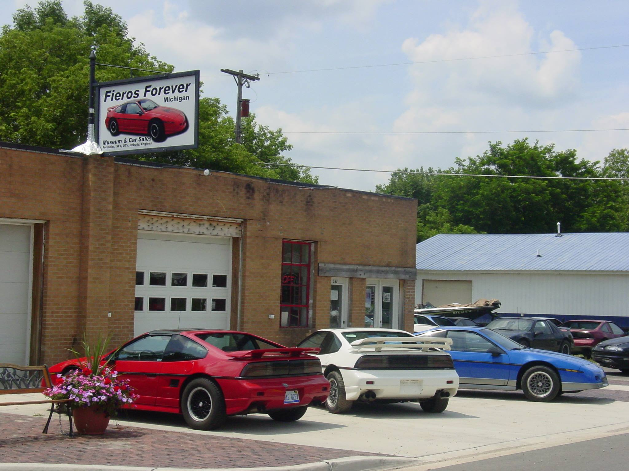 Fieros Forever Shop And Museum Sanford Michigan