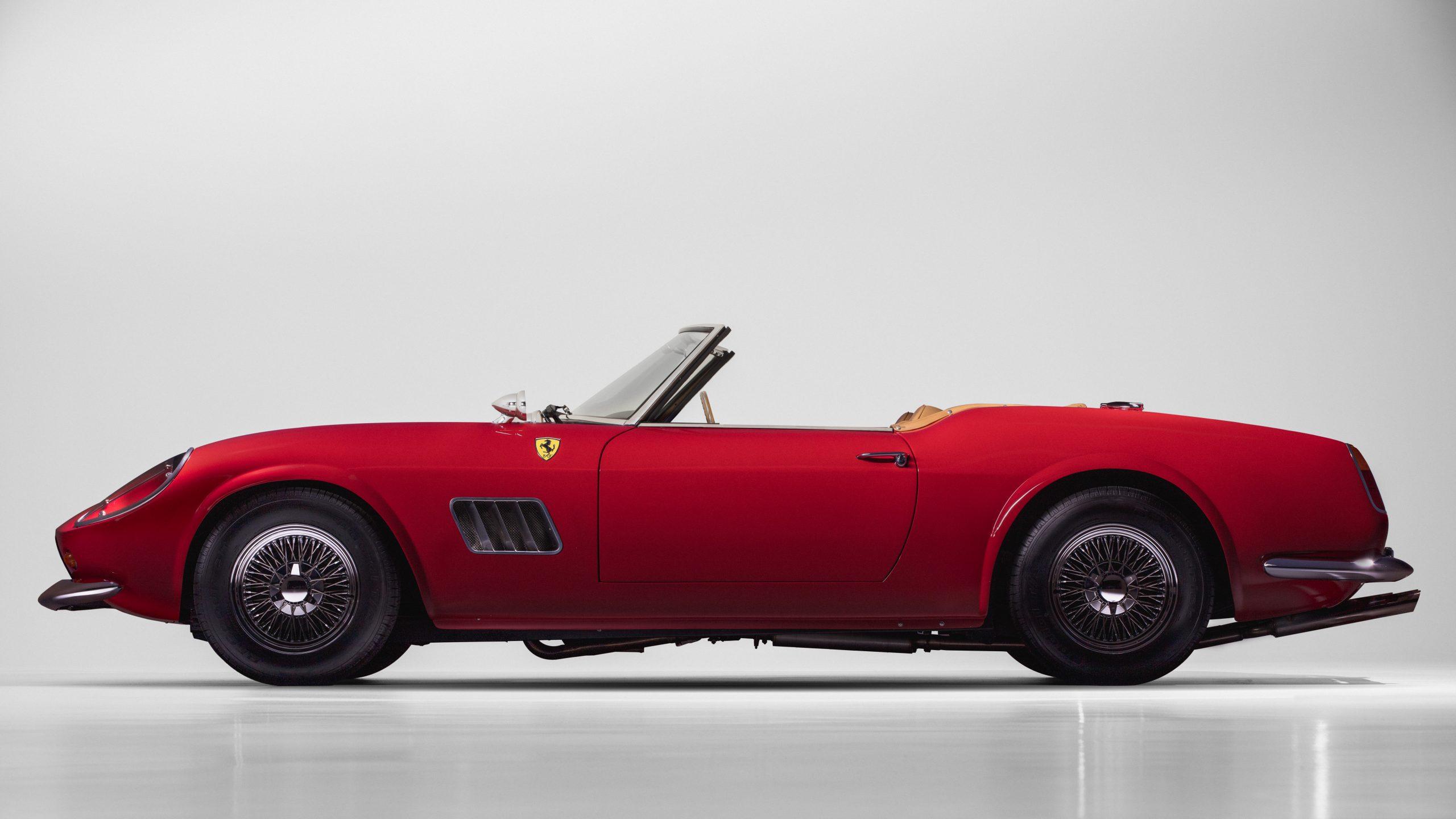 Ferris Bueller Ferrari - HVA Studio drivers side profile