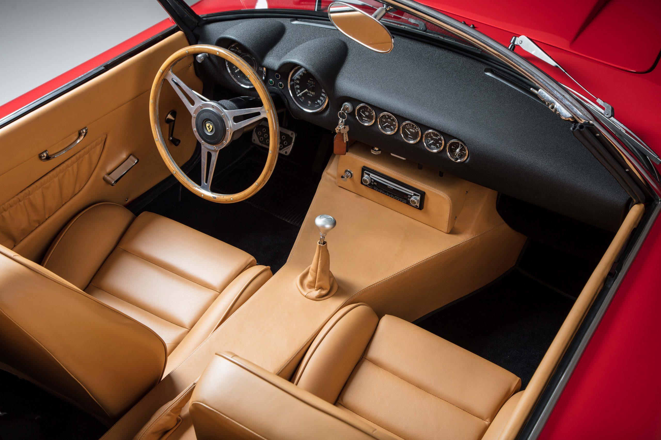 Ferris Bueller Ferrari - HVA Studio interior