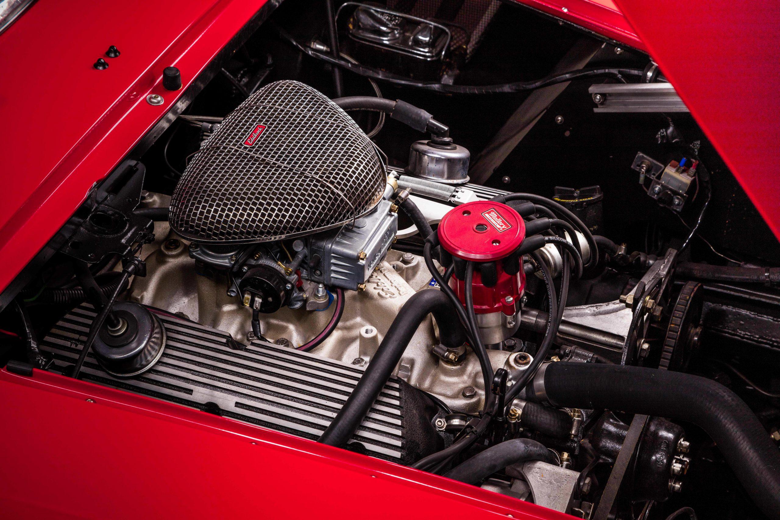 Ferris Bueller Ferrari - HVA Studio engine