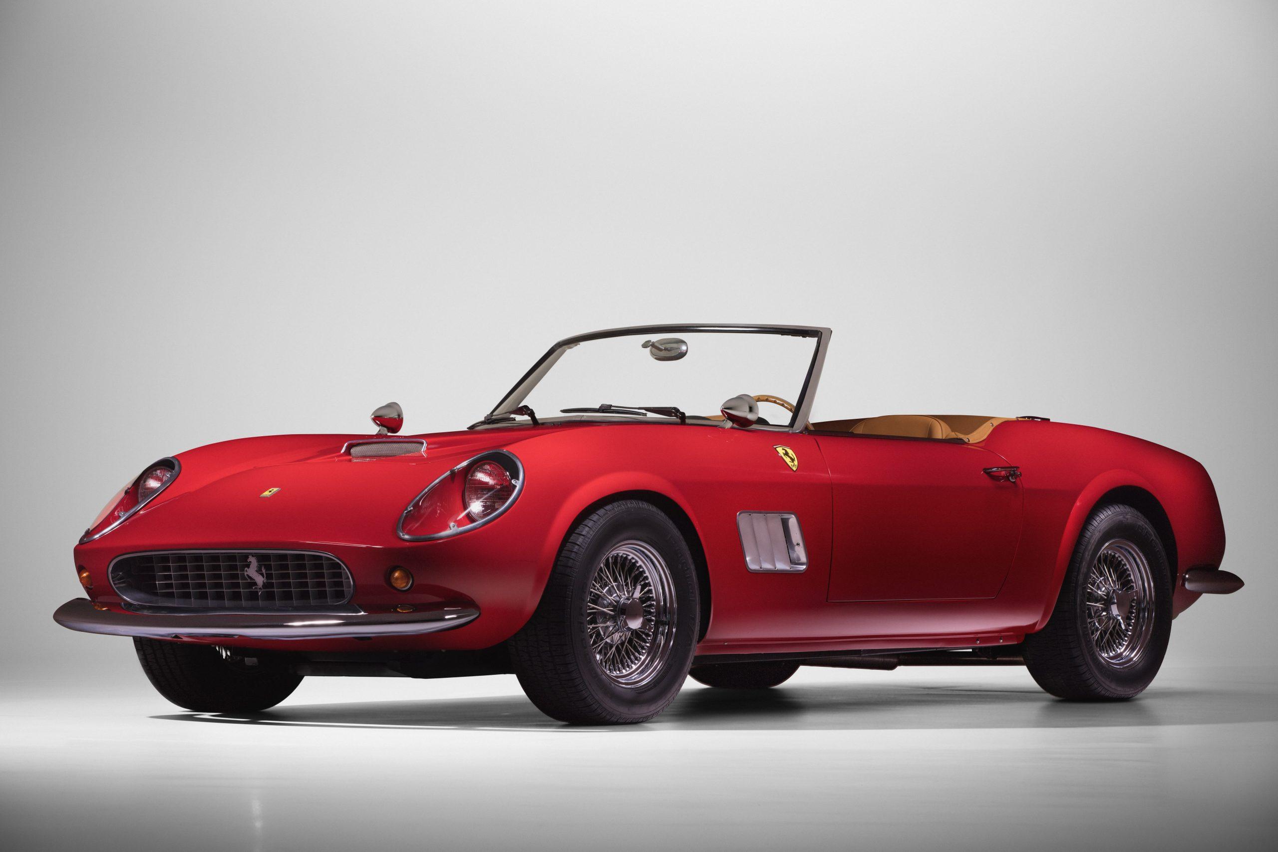Ferris Bueller Ferrari - HVA Studio drivers side angle