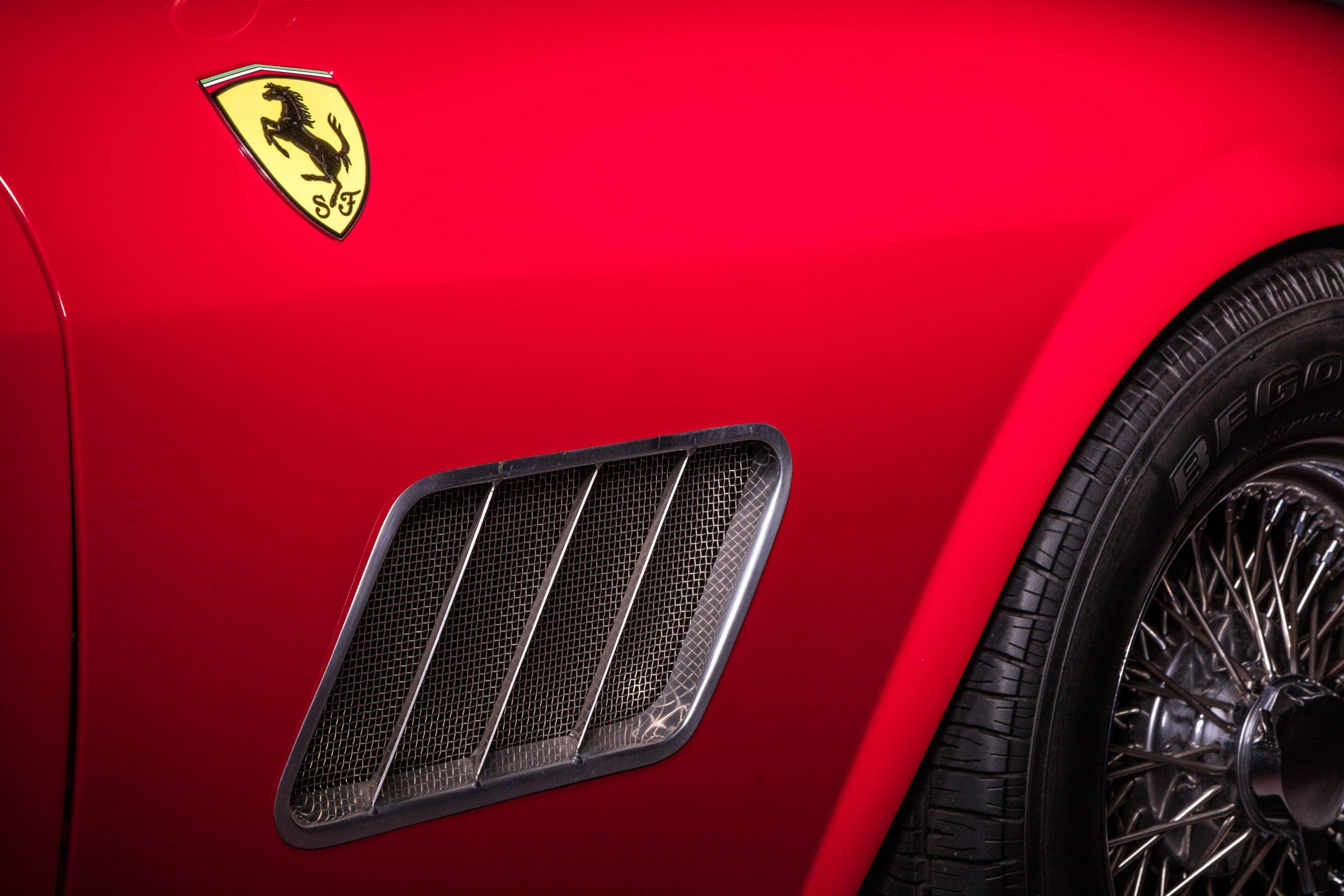 Ferris Bueller Ferrari - HVA Studio close-up passenger air