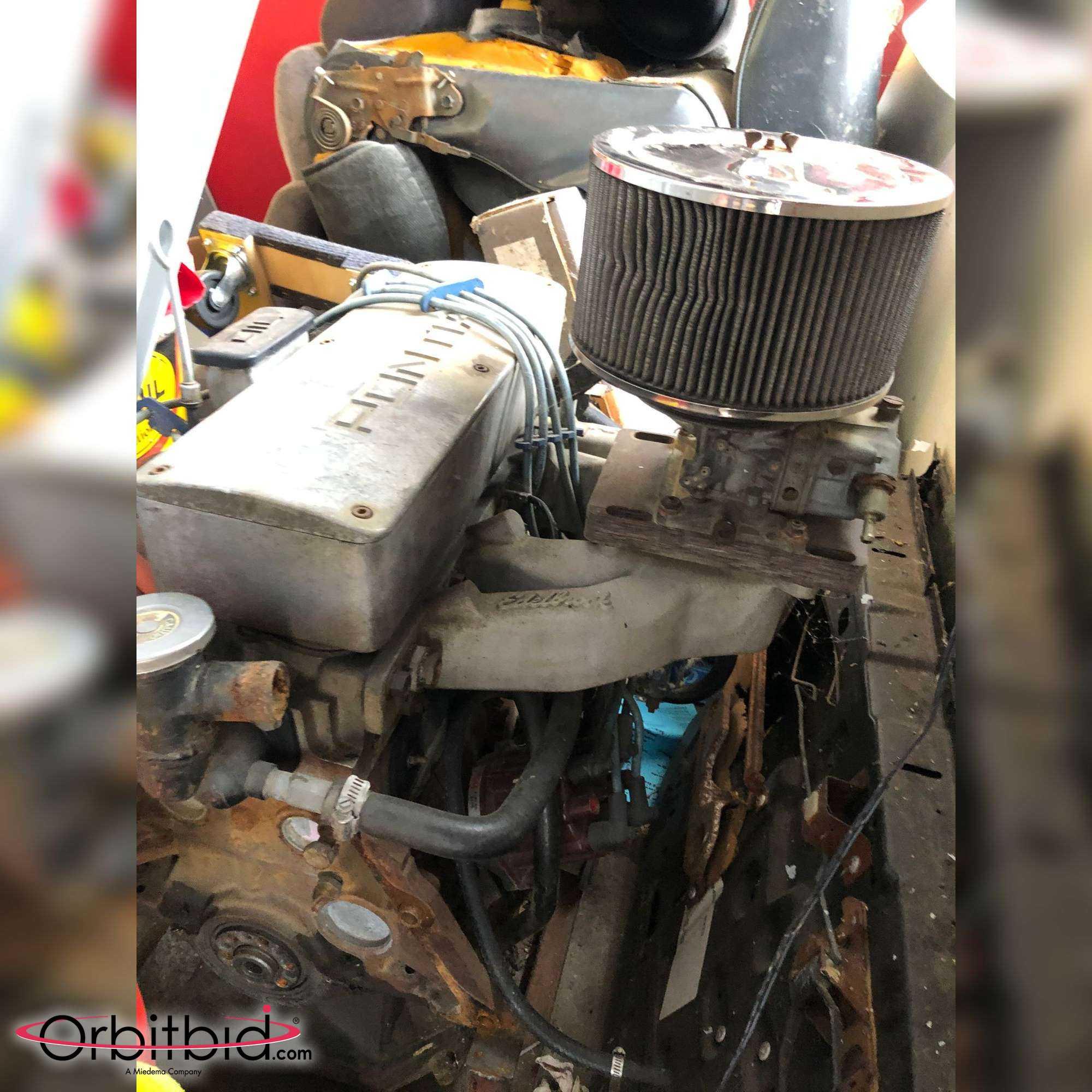 1984 Pontiac Fiero 4-Cylinder Engine